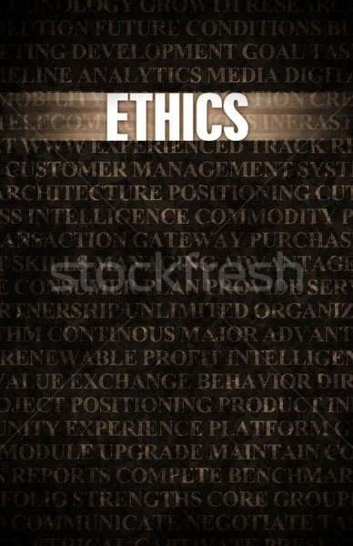 Ethics Stock photo © kentoh