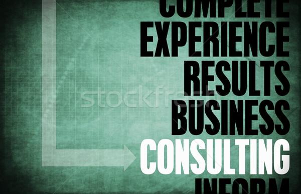 Consulting Stock photo © kentoh