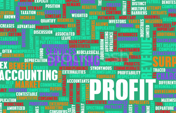 Profit Stock photo © kentoh