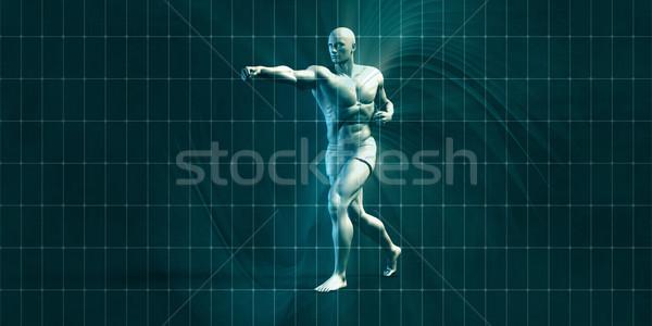 Physical Training Stock photo © kentoh