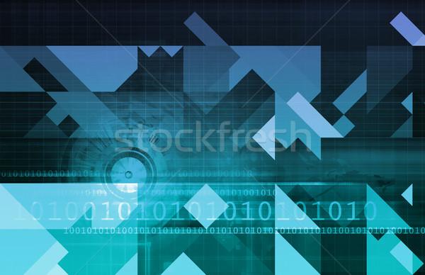 ビジネス インテリジェンス 抽象的な 意思決定 芸術 技術 ストックフォト © kentoh