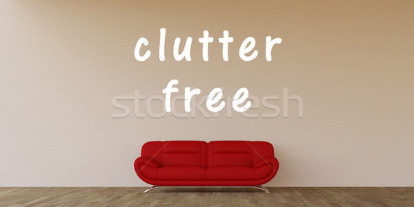 Clutter Free Stock photo © kentoh