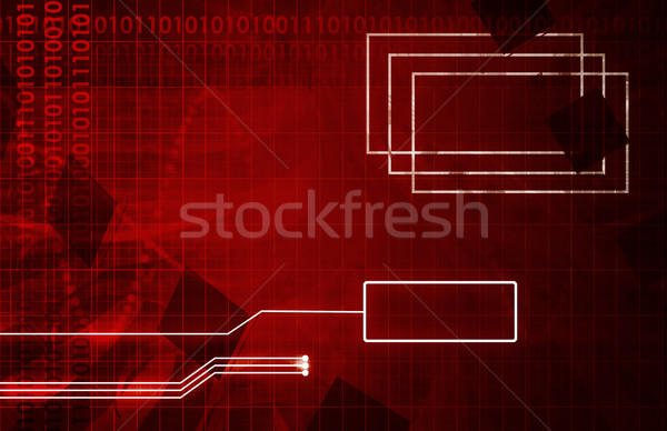 Ontwikkeling tool utility kunst ontwerp Stockfoto © kentoh