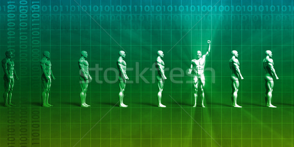 Wetenschap ontdekking gezondheidszorg doelen technologie kantoor Stockfoto © kentoh