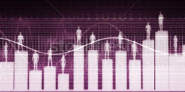 Employee Relationship Management Stock photo © kentoh
