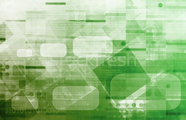 управления компания веб службе менеджера исследований Сток-фото © kentoh