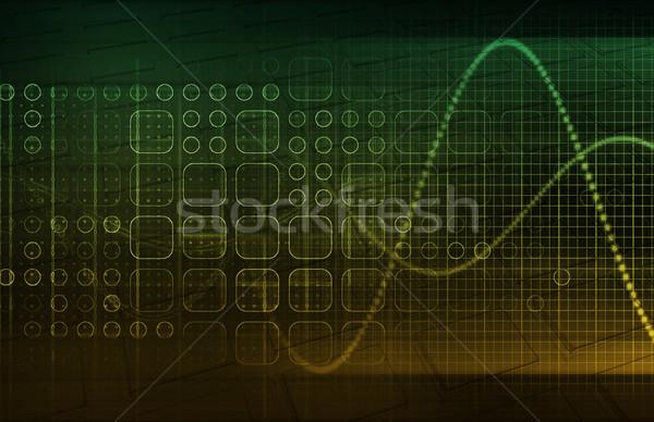 Technologie Trends Zukunft Textur abstrakten medizinischen Stock foto © kentoh