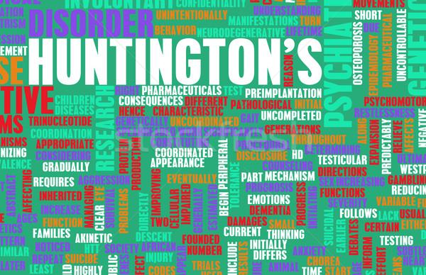 Huntington's Disease Stock photo © kentoh