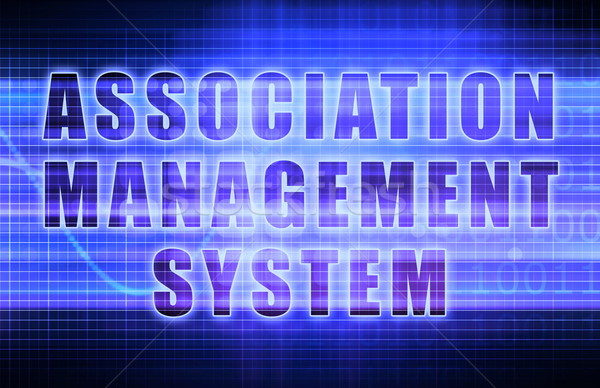 Association Management System Stock photo © kentoh