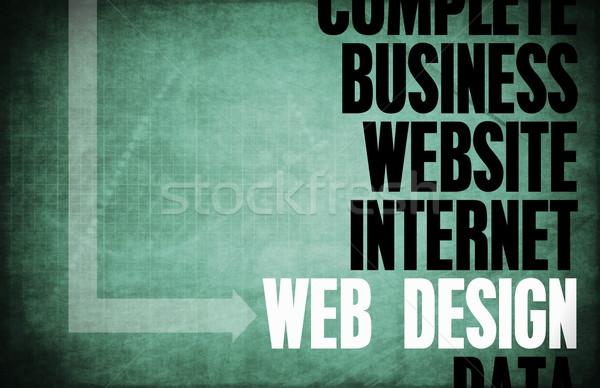 Webデザイン コア 原則 ビジネス デザイン ウェブ ストックフォト © kentoh