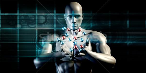 открытых науки движения научный знания разделение Сток-фото © kentoh