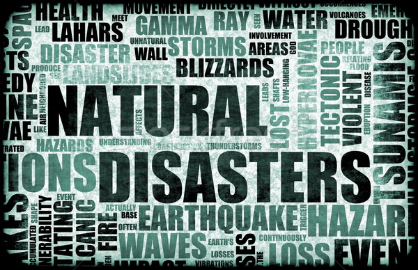 Natural Disasters Stock photo © kentoh