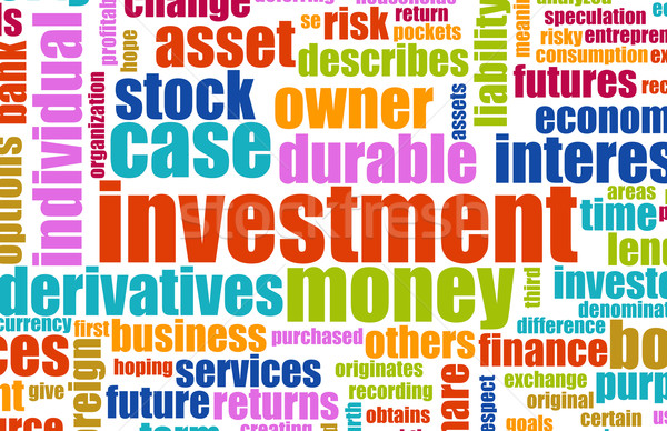 Investment Plan Stock photo © kentoh
