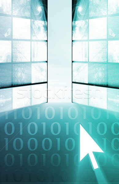 Futuristic Technology Abstract Stock photo © kentoh