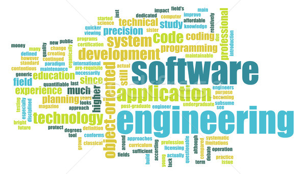 Stockfoto: Software · engineering · tech · business · computer · internet