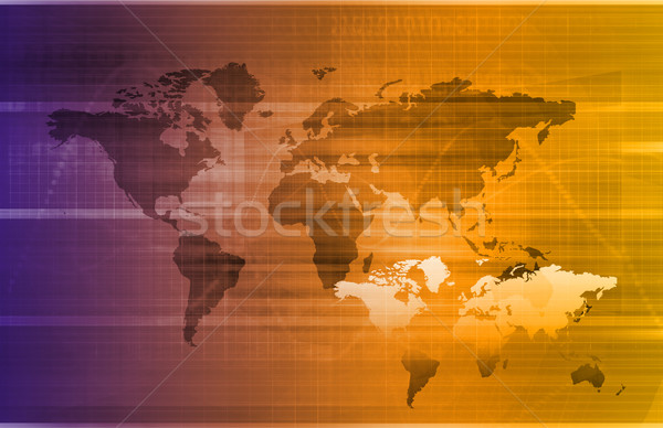 Global Logistics Stock photo © kentoh