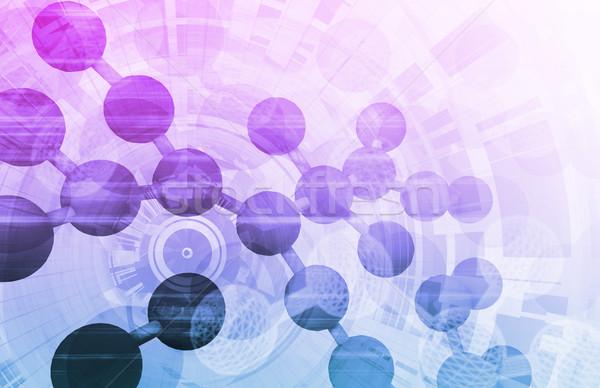 ストックフォト: 医療 · 業界 · 科学 · 企業 · 会社 · ケア