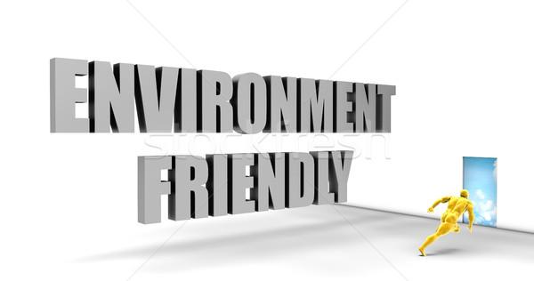 Zdjęcia stock: środowiska · przyjazny · szybko · utwór · kierować · pośpieszny