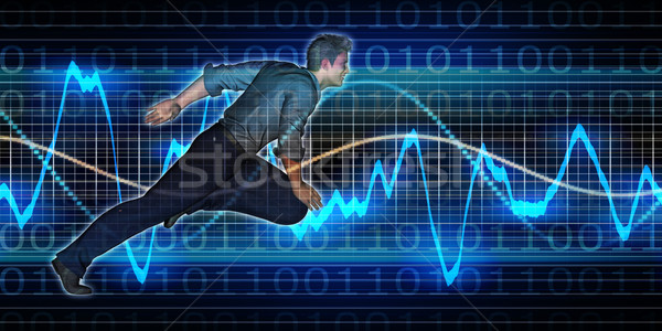 Successful Business with Nordic Man Stock photo © kentoh