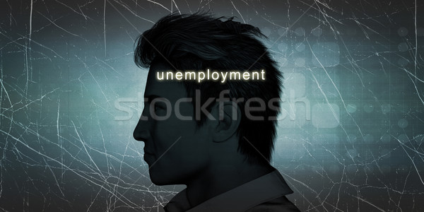 Man Experiencing Unemployment Stock photo © kentoh