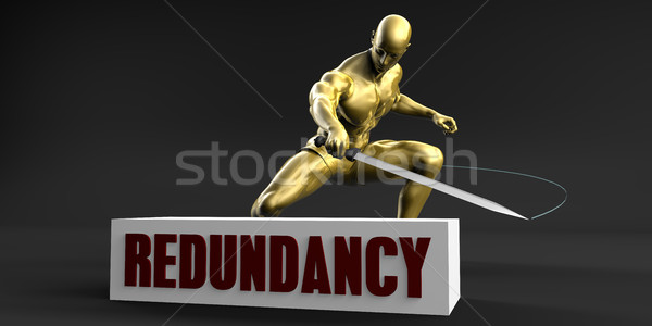 Reduce Redundancy Stock photo © kentoh
