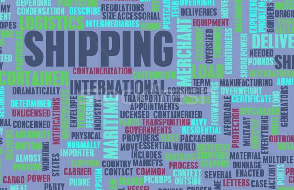 送料 業界 ビジネス 水 海 世界 ストックフォト © kentoh