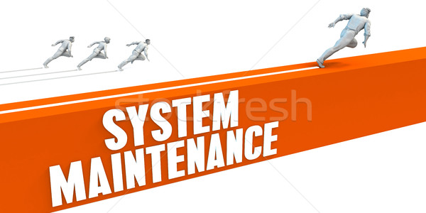 System Maintenance Stock photo © kentoh