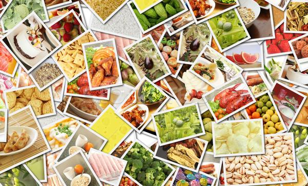 Food Collage Stock photo © kentoh