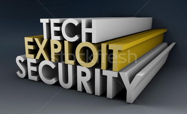 Security Exploit Stock photo © kentoh