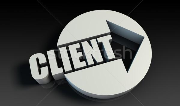 Client Stock photo © kentoh