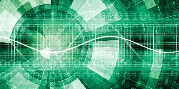 エンジニアリング 抽象的な 技術 業界 グラフ プレゼンテーション ストックフォト © kentoh