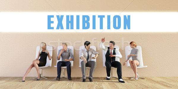Business Exhibition Stock photo © kentoh