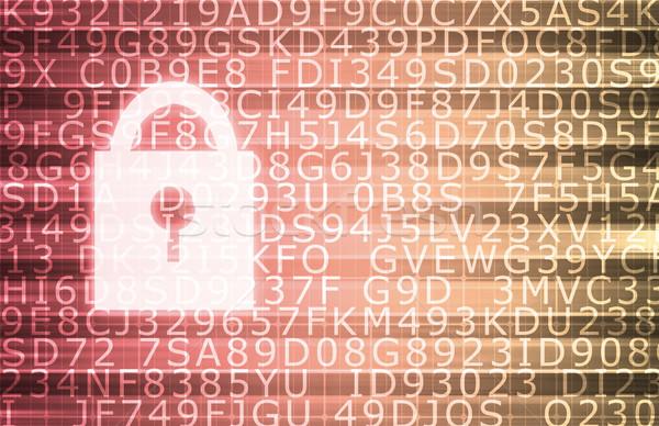 Stock photo: Security Concept