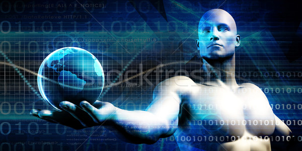 Futuristic Technology Stock photo © kentoh