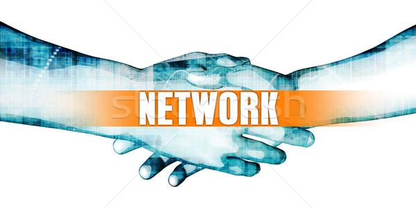 Network Stock photo © kentoh