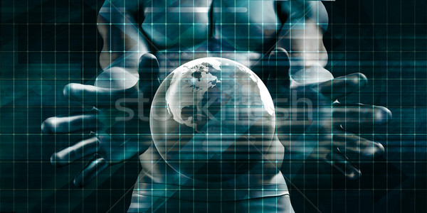 Global Communications Stock photo © kentoh