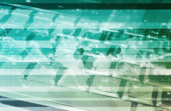 Global Information Technology Stock photo © kentoh