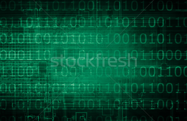 Gegevens stream verkeer internet licht achtergrond Stockfoto © kentoh