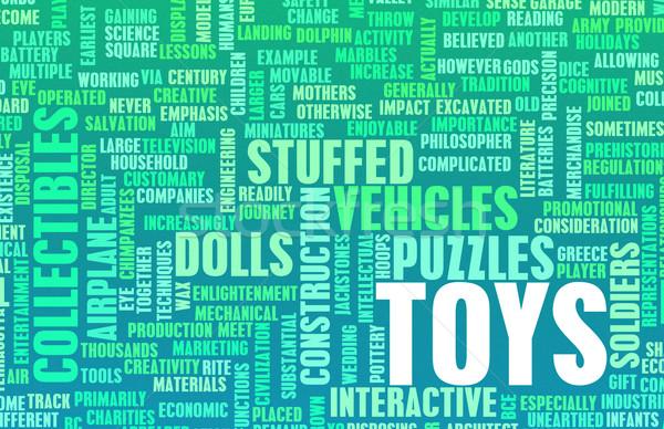 Toys Collection Stock photo © kentoh