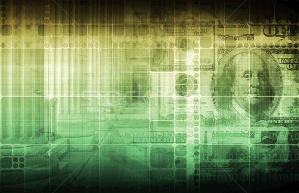 Governo economia monetário leis abstrato negócio Foto stock © kentoh