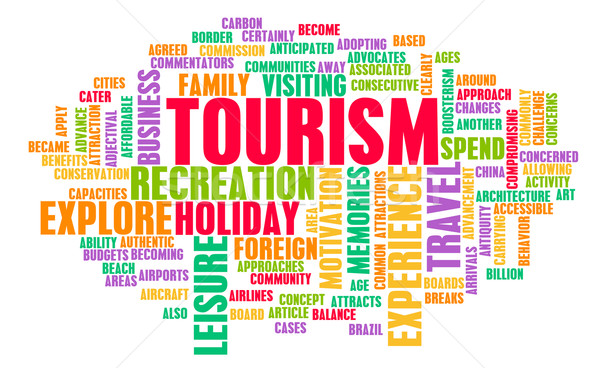 Stock photo: Tourism Industry