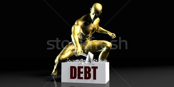 Debt Stock photo © kentoh