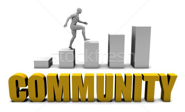 Community Stock photo © kentoh