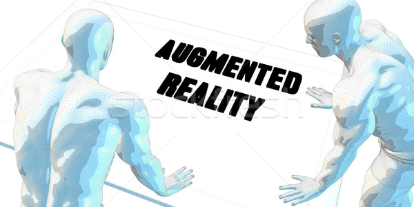 Augmented Reality Stock photo © kentoh
