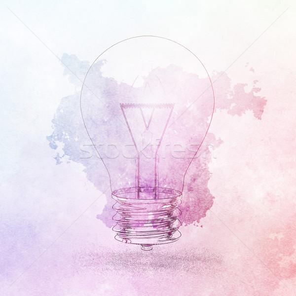 Creative анализ презентация решения искусства диаграммы Сток-фото © kentoh