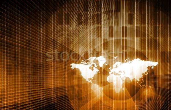 Informatika nemzetközi szint technológia hálózat háló Stock fotó © kentoh