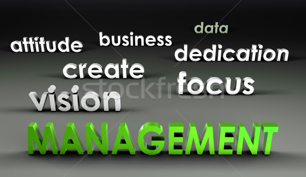Management at the Forefront Stock photo © kentoh