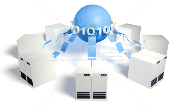 Database Server Stock photo © kentoh