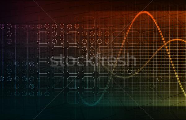 Integrated Technologies Stock photo © kentoh