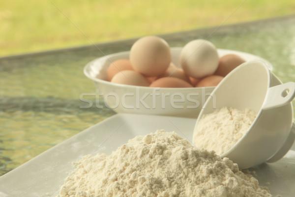 Baking Flour Stock photo © kentoh